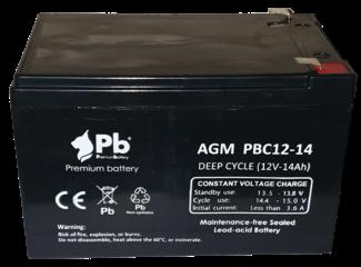 Imagen de Batería Premium Battery PBC12-14 AGM Ciclica