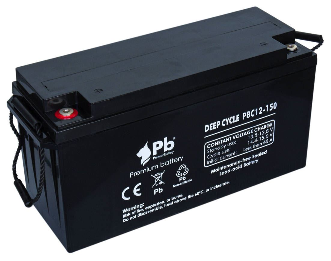 Imagen de Batería Premium Battery PBC12-150 AGM Ciclica