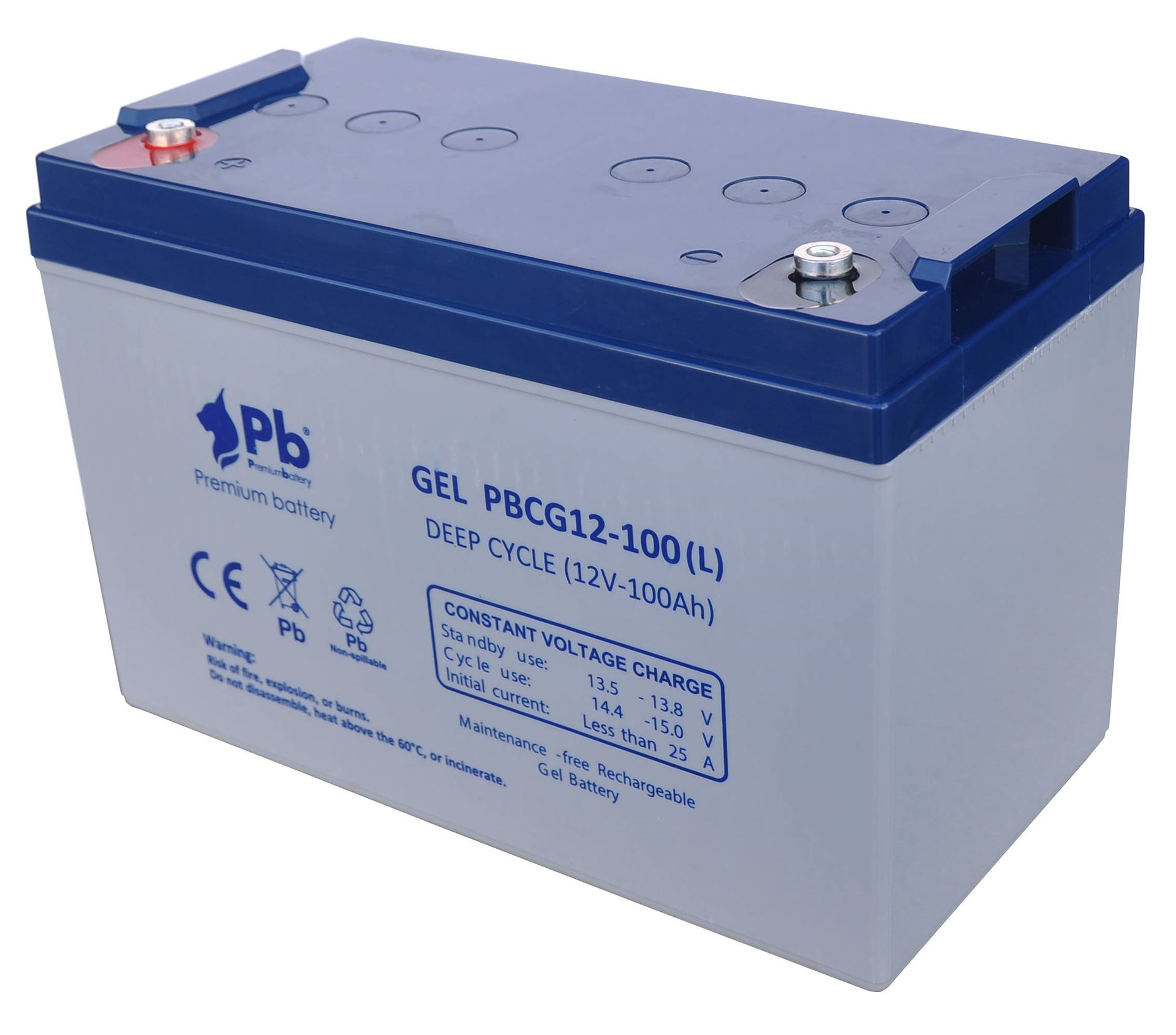 Imagen de Batería Premium Battery PBCG12-100L GEL Cíclica