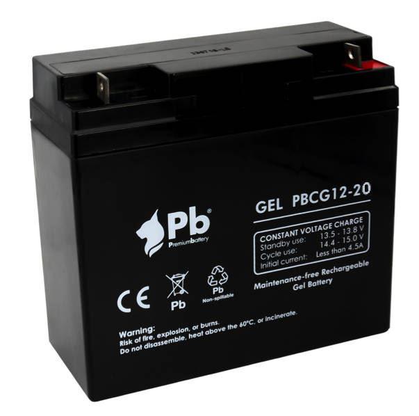 Imagen de Batería Premium Battery PBCG12-20 GEL Cíclica