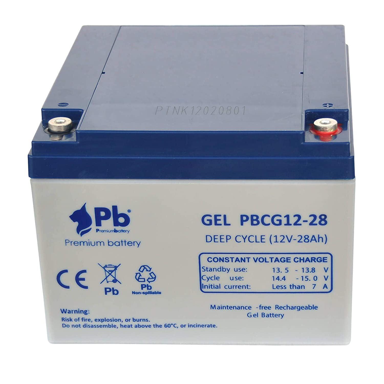 Imagen de Batería Premium Battery PBCG12-28 GEL Cíclica