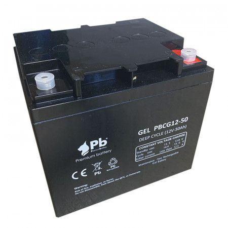 Imagen de Batería Premium Battery PBCG12-50 GEL Cíclica