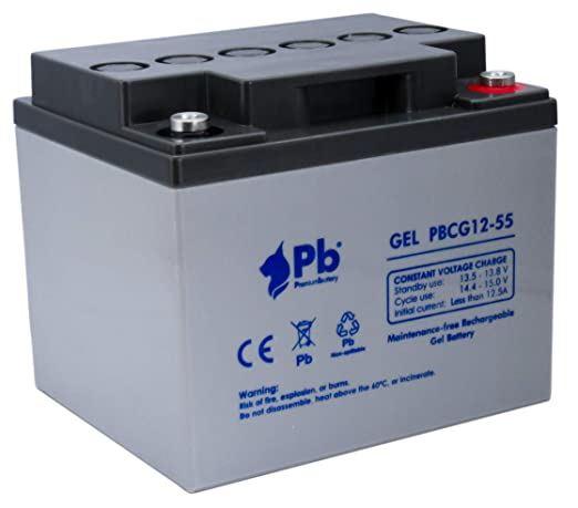 Imagen de Batería Premium Battery PBCG12-60 GEL Cíclica