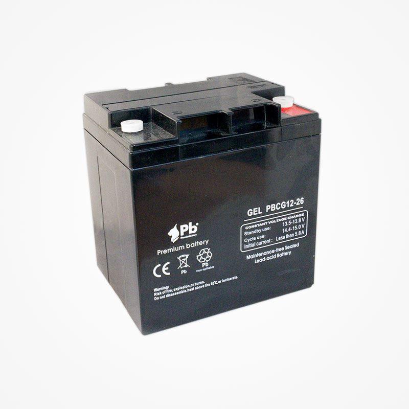 Imagen de Batería Premium Battery PBCG12-26 GEL Cíclica
