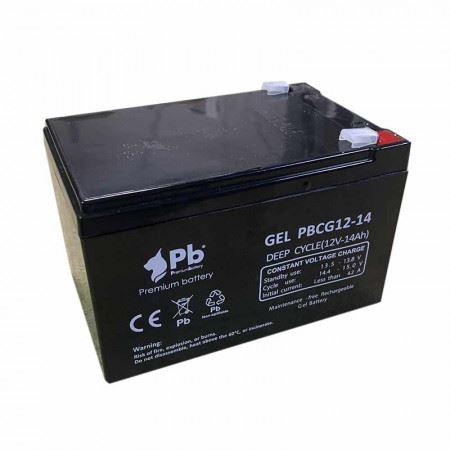 Imagen de Batería Premium Battery PBCG12-14 GEL Cíclica
