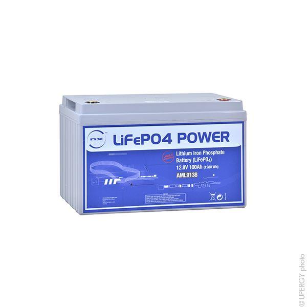 Imagen de Bateria NX Enérgies Litio LiFeP04 100Ah 12,8V