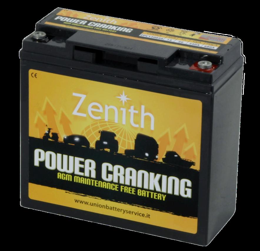 Imagen de Batería ZENITH ZPC120020 AGM High Power Cranking