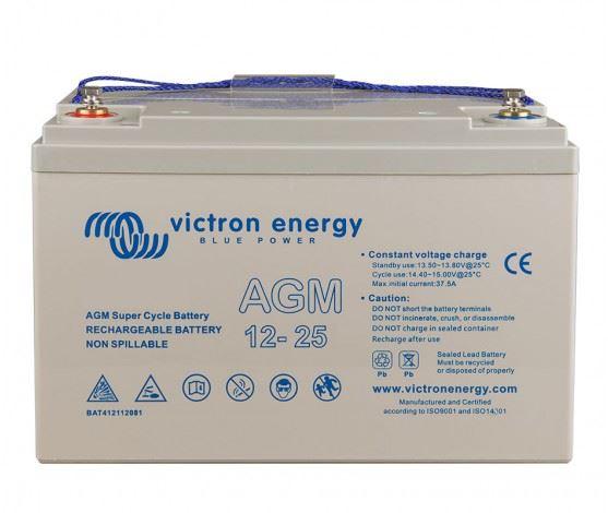 Imagen de Batería VICTRON 12V/25Ah AGM Super ciclica