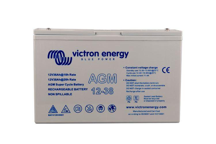 Imagen de Batería VICTRON 12V/38Ah AGM Super ciclica