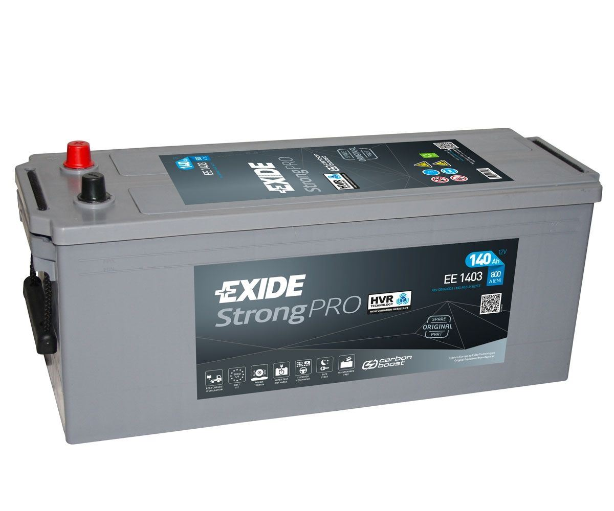 Imagen de Batería EXIDE EE1403 (equivale a TUDOR TE1403) Strong PRO EFB