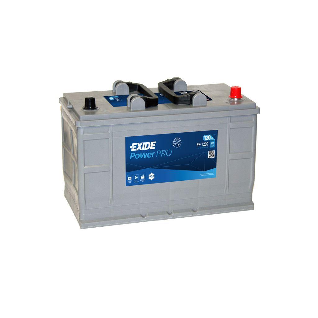Imagen de Batería EXIDE EF1202 (equivale a TUDOR TF1202) Power PRO