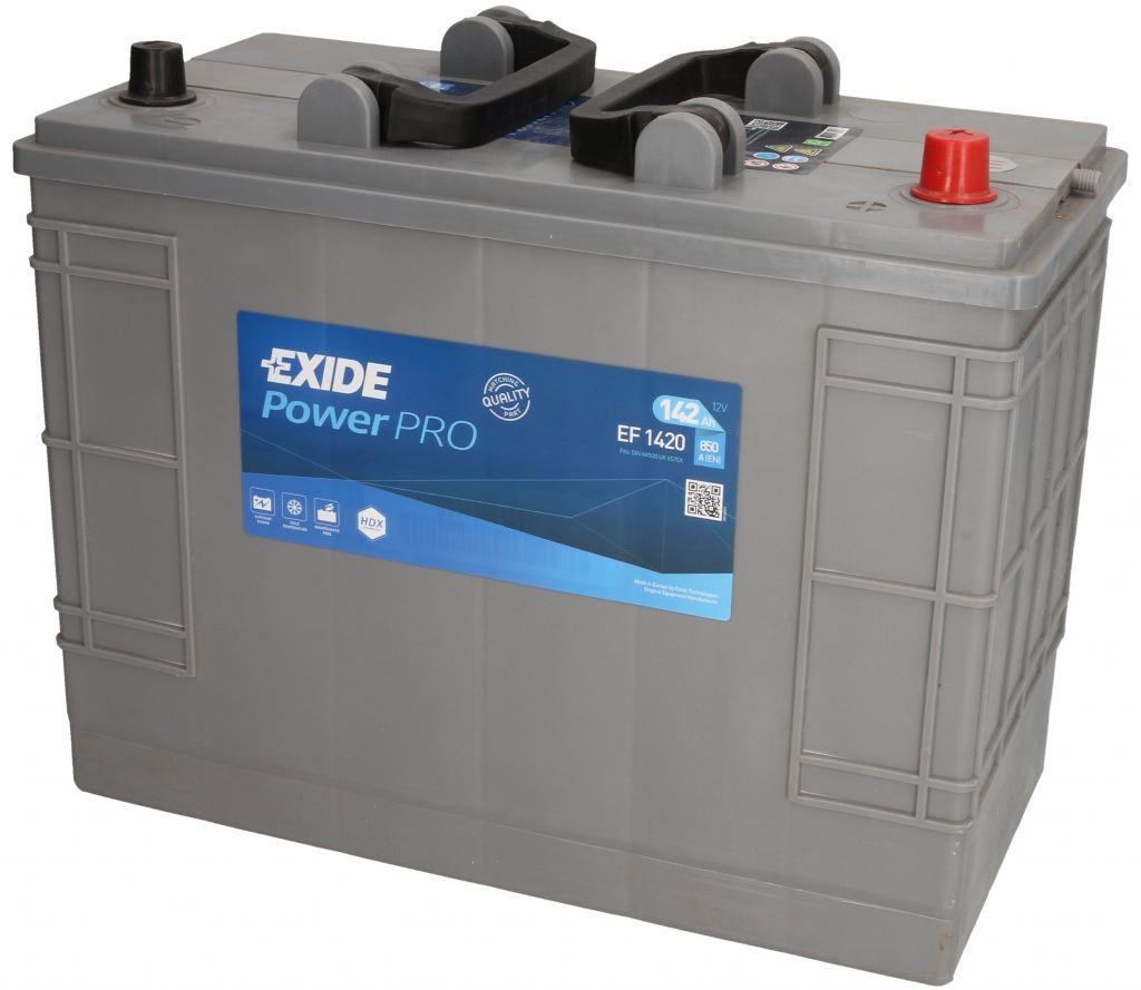 Imagen de Batería EXIDE EF1420 (equivale a TUDOR TF1420) Power PRO