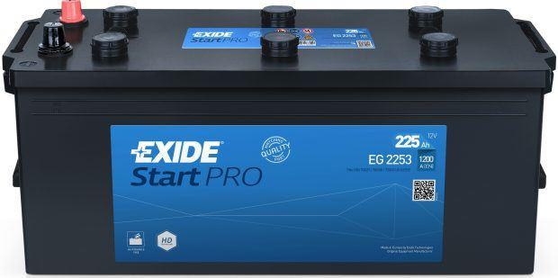Imagen de Batería EXIDE EG2253 (equivale a TUDOR TG2253) Start PRO