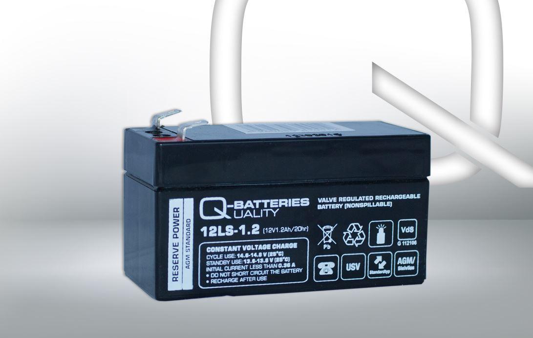 Imagen de Batería Q-BATTERIES 12LS-1.2 AGM Estacionaria