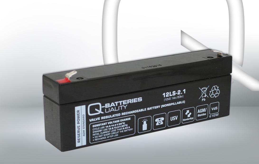 Imagen de Batería Q-BATTERIES 12LS-2.1 AGM Estacionaria