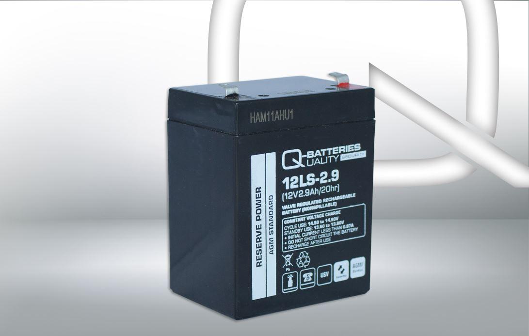 Imagen de Batería Q-BATTERIES 12LS-2.9 AGM Estacionaria