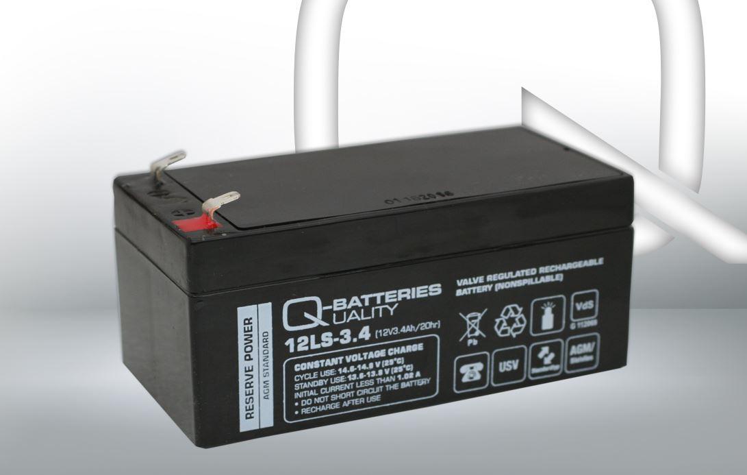 Imagen de Batería Q-BATTERIES 12LS-3.4 AGM Estacionaria