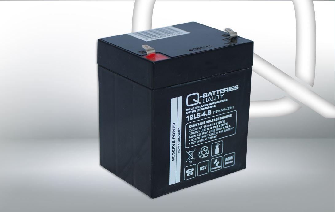 Imagen de Batería Q-BATTERIES 12LS-4.5 AGM Estacionaria
