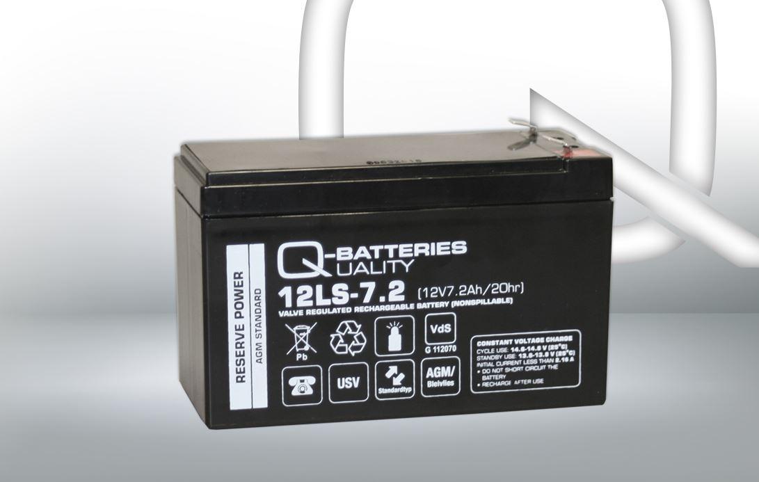Imagen de Batería Q-BATTERIES 12LS-7.2 F2 AGM Estacionaria