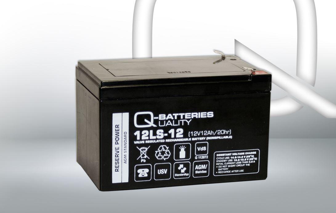 Imagen de Batería Q-BATTERIES 12LS-12 F2 AGM Estacionaria