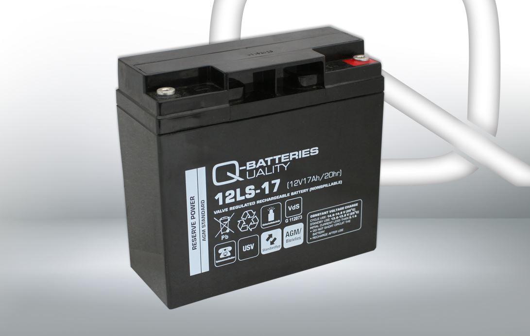 Imagen de Batería Q-BATTERIES 12LS-17 AGM Estacionaria