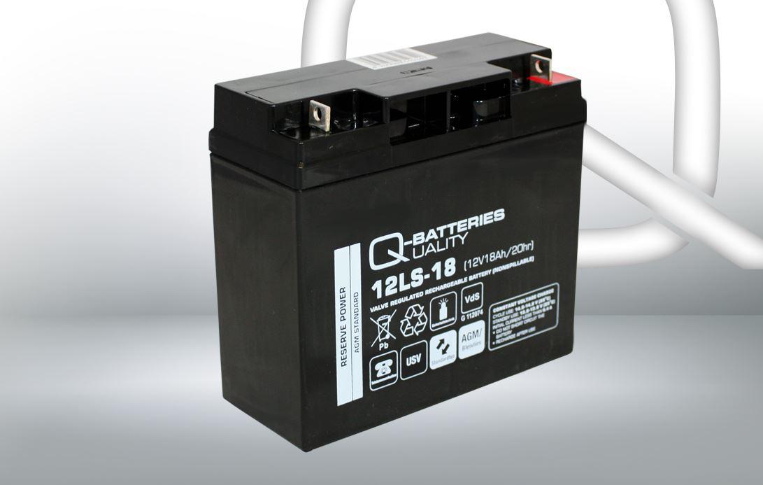 Imagen de Batería Q-BATTERIES 12LS-18 AGM Estacionaria