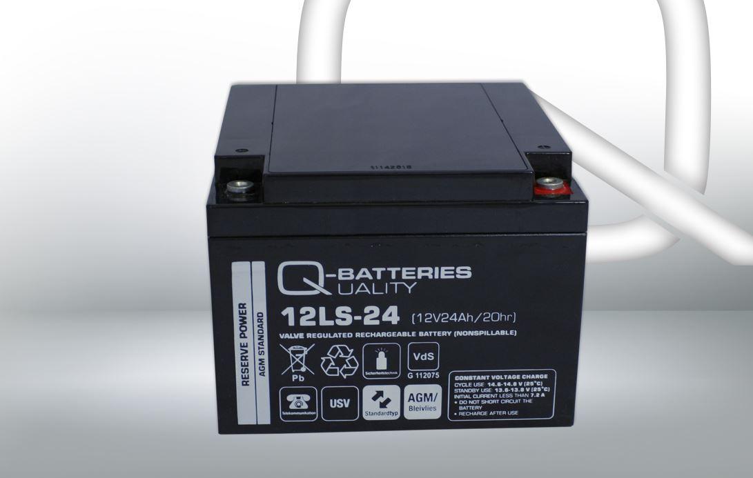 Imagen de Batería Q-BATTERIES 12LS-24 AGM Estacionaria