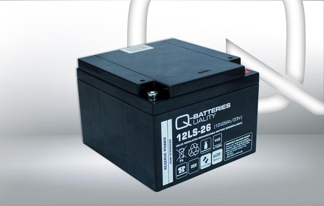 Imagen de Batería Q-BATTERIES 12LS-26 AGM Estacionaria