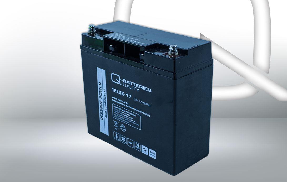 Imagen de Batería Q-BATTERIES 12LSX-17 AGM Long LIfe