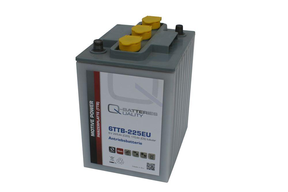 Imagen de Batería Q-BATTERIES 6TTB-225EU Tubular