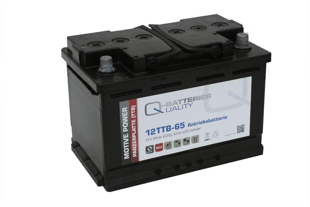 Imagen de Batería Q-BATTERIES 12TTB-65 Tubular