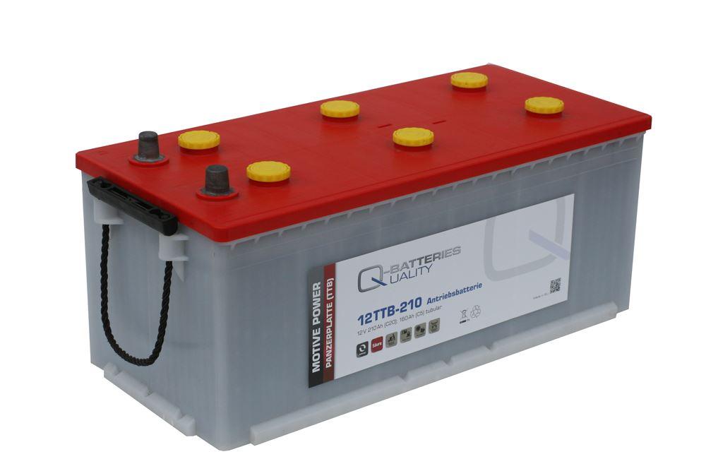 Imagen de Batería Q-BATTERIES 12TTB-210 Tubular