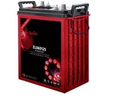 Imagen de Batería ZENITH ZL060125 AGM Ciclo Profundo