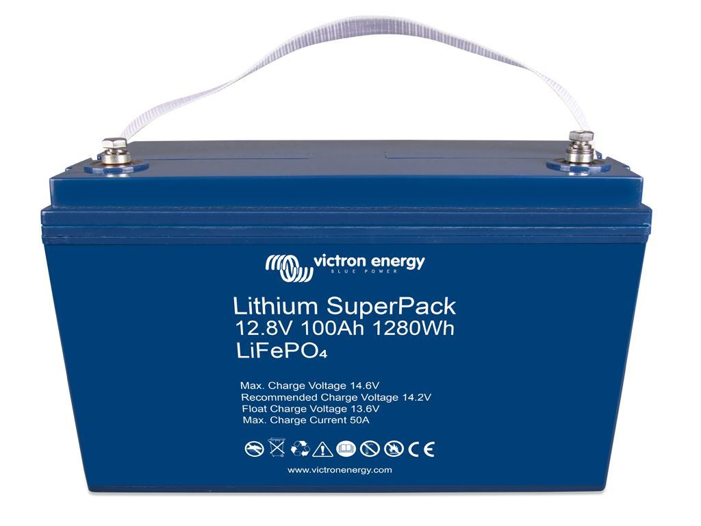 Imagen de Batería VICTRON 12,8V/100Ah Litio SuperPack Ciclica Alta descarga