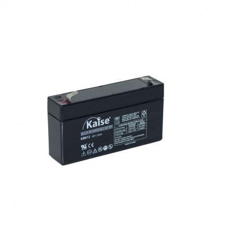 Imagen de Batería KAISE KB612 AGM STANDARD