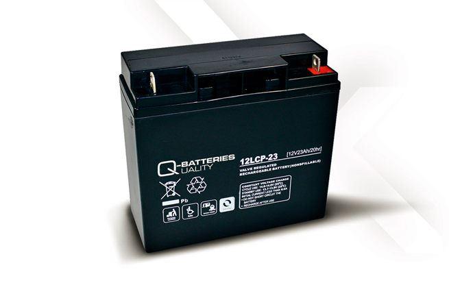 Imagen de Batería Q-BATTERIES 12LCP-23 AGM Ciclica