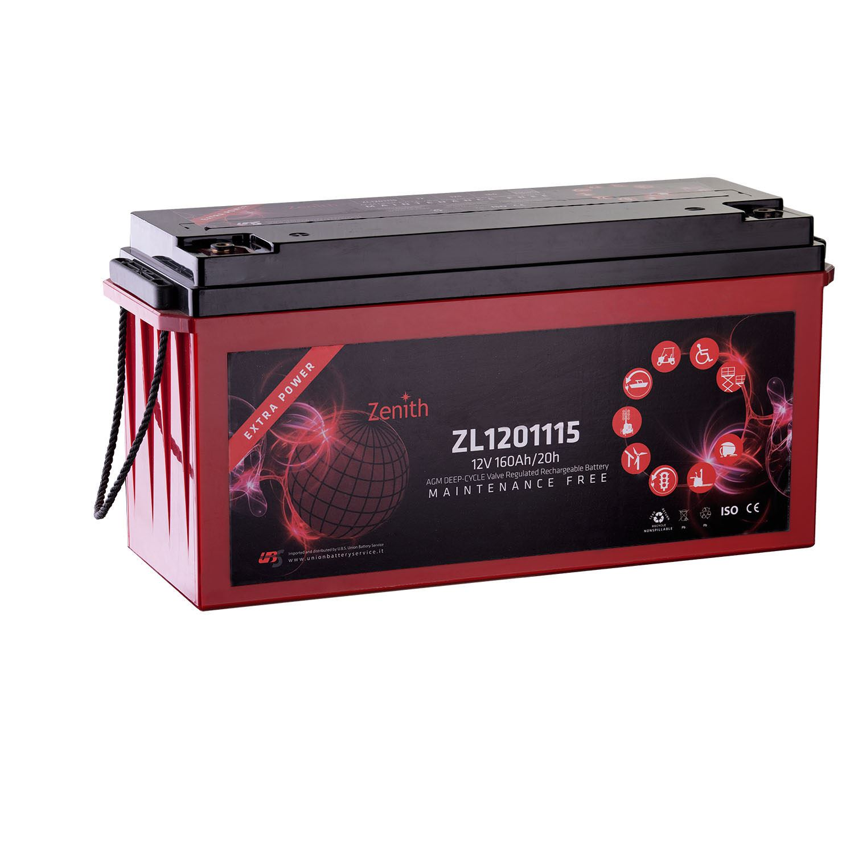 Imagen de Batería ZENITH ZL1201115 AGM Ciclo Profundo