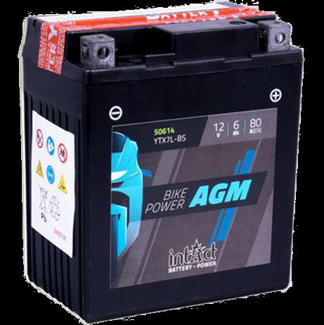 Imagen de Batería INTACT YTX7L-BS AGM