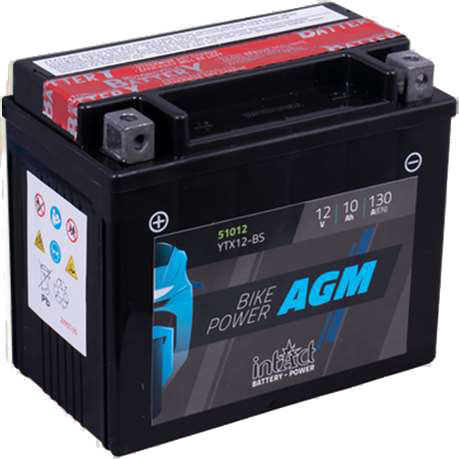 Imagen de Batería INTACT YTX12-BS AGM