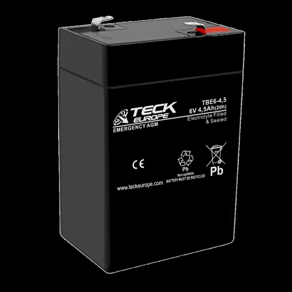 Imagen de Batería TECK TBE6-4,5 AGM Emergencia